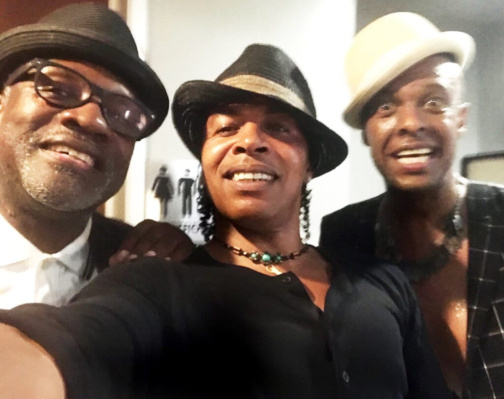 Lynval Golding (The Specials) and Angelo Moore (Fishbone) and Keno Mapp (Heart Touch)